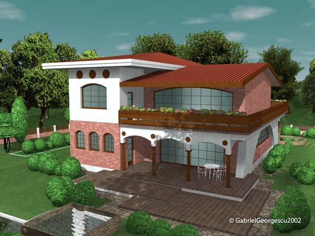 Casa cu etaj 2 proiecte de case personalizate arhitect for Case cu etaj
