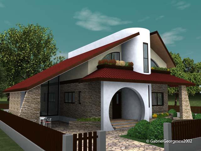 Proiecte de case casa cu etaj 10 arhitect gabriel for Case de vis cu etaj