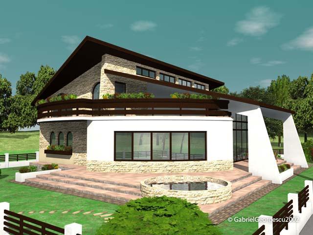Casa cu etaj 11 proiecte de case personalizate for Case cu etaj