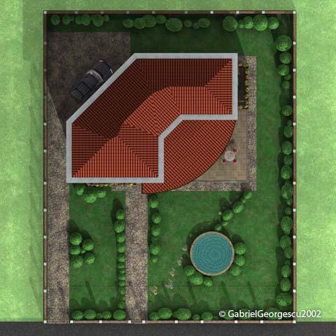 Proiecte de case | Casa cu etaj 22 | Arhitect Gabriel Georgescu