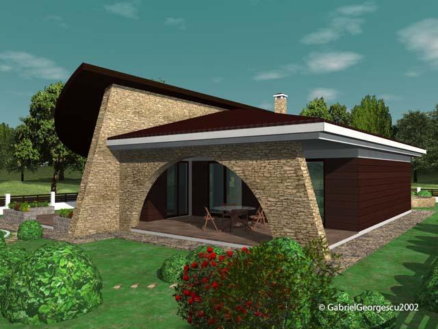 Proiecte de case casa parter 2 arhitect gabriel georgescu for Proiecte case parter