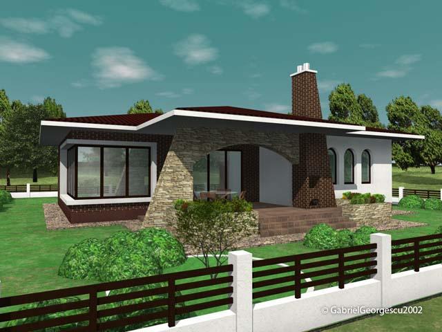 Proiecte de case casa parter 5 arhitect gabriel georgescu for Proiecte case parter