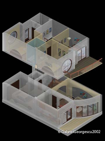 Proiecte de case | Locuinta 3 | Arhitect Gabriel Georgescu