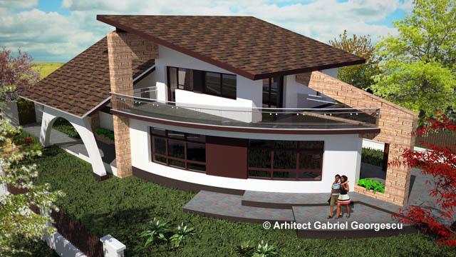 Casa cu etaj 33 proiecte de case personalizate for Arhitectura case cu mansarda
