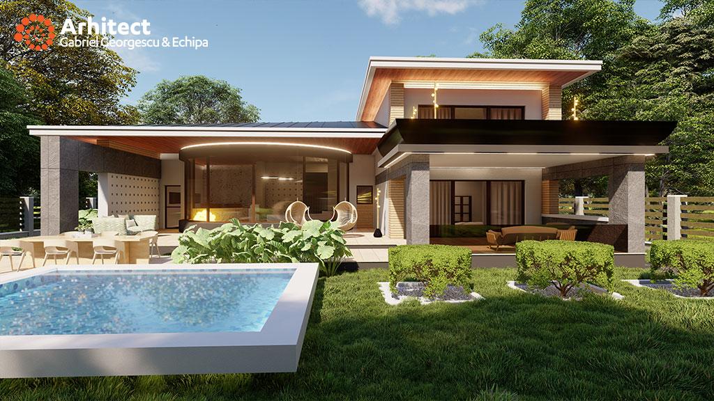 mobila pentru bucataria modele de case cu etaj