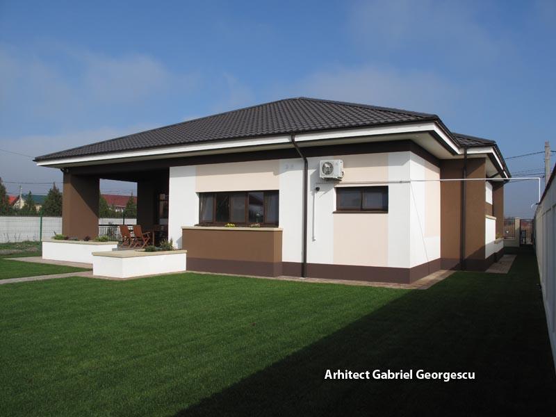 Proiecte de case proiect 16 casa parter arhitect for Case parter