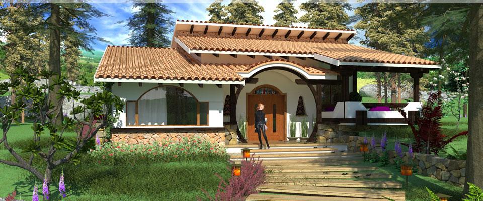 Proiecte de case casa cu etaj 46 arhitect gabriel for Case de vis cu etaj