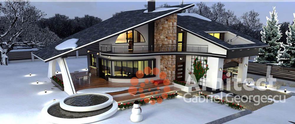 Proiecte de case prezentare arhitect gabriel georgescu for Case cu etaj