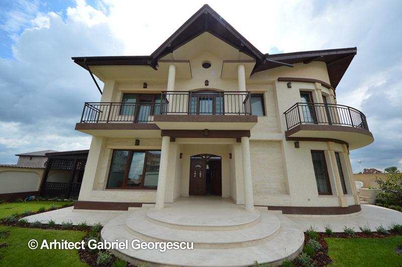 Proiecte de case proiect 38 casa cu etaj arhitect for Case de vis cu etaj