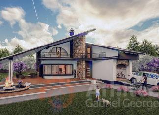 Proiect de casa cu etaj 58