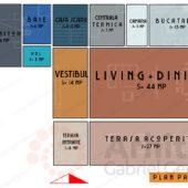 Plan de Casa cu etaj 74