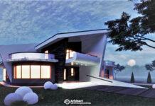 Proiect de casa cu etaj 75
